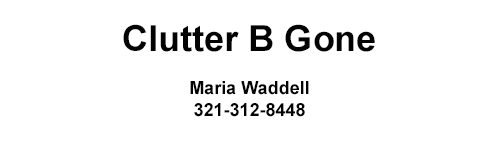 Golden Providers: Clutter B Gone