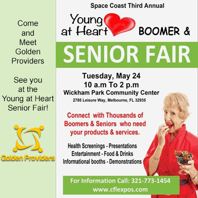Golden Providers at the Young at Heart Expo